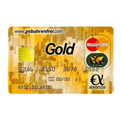 My German Finances: Mastercard Gold – Advanzia Bank