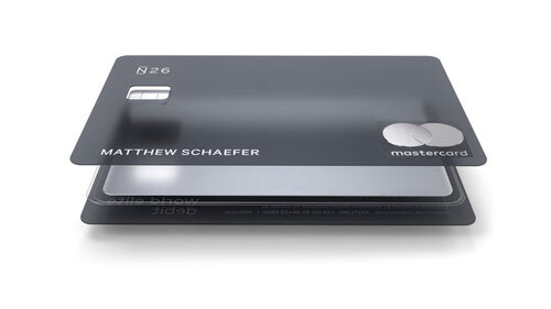 Metal credit card Germany