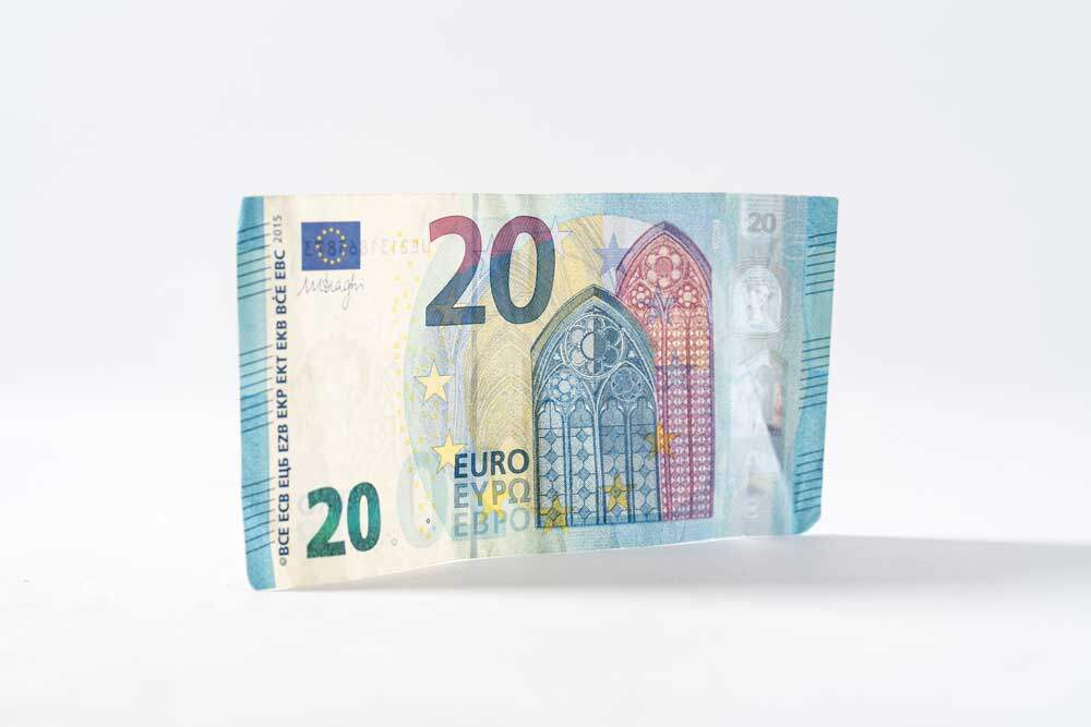 euros bill Germany