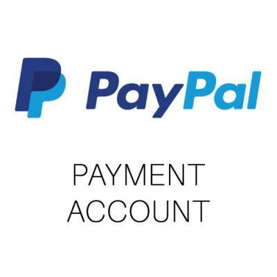 PayPal payment account