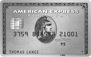 German credit card exclusive Amex