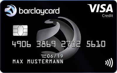 Visa card Barclays Germany