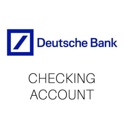 Checking Account Germany
