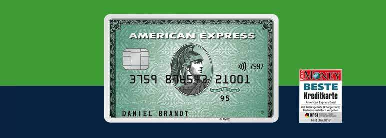 German Testsieger Credit Card
