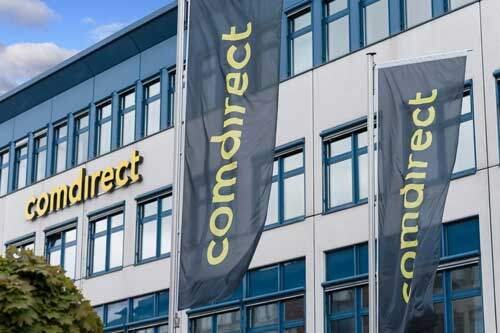 free bank account in Germany comdirect