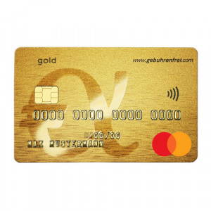 Mastercard Gold for free