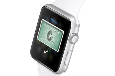 Apple Watch with American Express Green Card