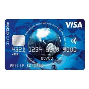 free VISA credit card Germany