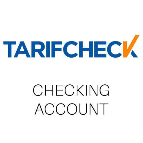 Tarifcheck comparison German bank accounts