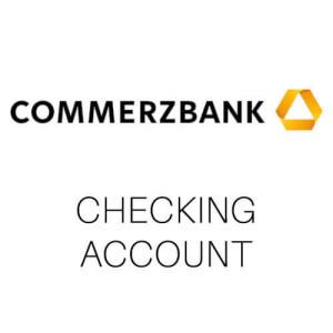 Commerzbank bank account