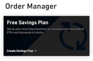 Free ETF savings plan Trade Republic
